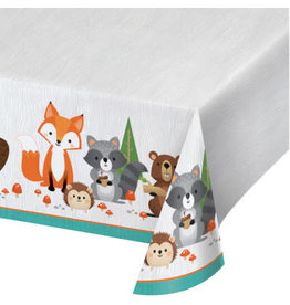 """creative converting Wild One Tablecover (54"""" x 102"""")"""