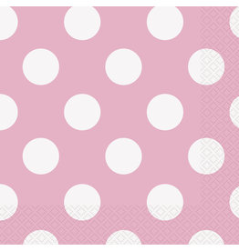 unique Lovely Pink Dots Lunch Napkins - 16ct.