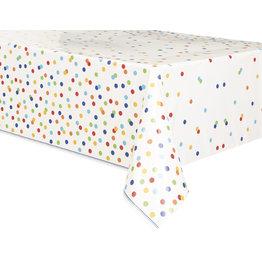 unique Rainbow Polka Dot Table Cover