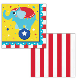 Party Creations Circus Party Lunch Napkins - 16ct.
