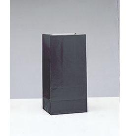 unique Black Paper Party Bags - 12ct.