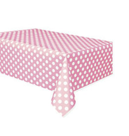 """unique Lovely Pink Dots Tablecover - 54"""" X 108"""""""