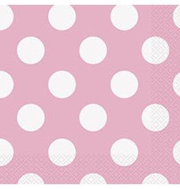 unique Lovely Pink Dots Bev Napkins - 16ct.
