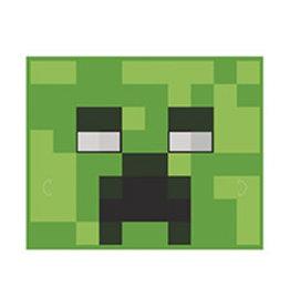 unique Minecraft Party Masks - 8ct. (4 Asst. Styles)