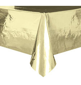 "unique Metallic Gold Tablecover (54"" x 108"")"
