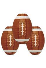 "Beistle 11"" Football Paper Lanterns - 3ct."