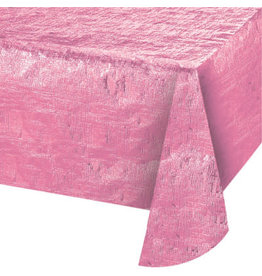 "creative converting Opal Candy Pink Tablecover (54"" x 108"")"