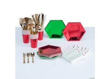 Metallic / Foil Tableware