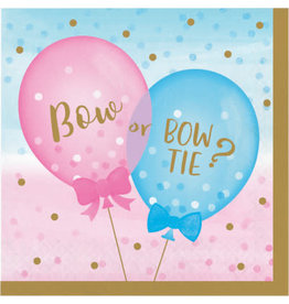 creative converting Gender Reveal Balloons Lun. Napkins - 16ct.
