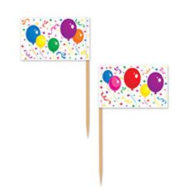 Beistle Balloons & Confetti Picks - 50ct.