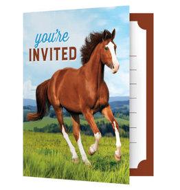 creative converting Horse and Pony Invites - 8ct.