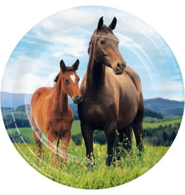 """creative converting Horse and Pony 7"""" Plates - 8ct."""