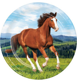 """creative converting Horse and Pony 9"""" Plates - 8ct."""