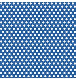 unique Blue Dot Gift Wrap 30' x 5'