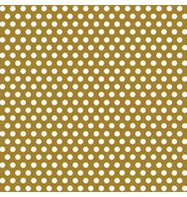 """unique Gold Dot Gift Wrap 30"""" x 5"""""""