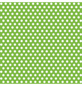 "unique Lime Green Dots Gift Wrap 30"" x 5"""