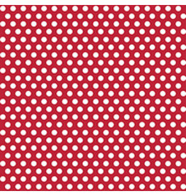 "unique Ruby Red Dot Gift Wrap 30"" x 5'"