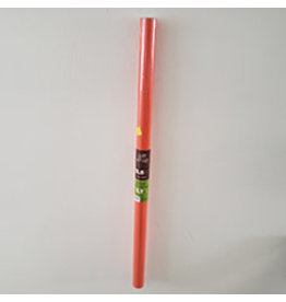 "Amscan Orange Gift Wrap 30"" x 5'"