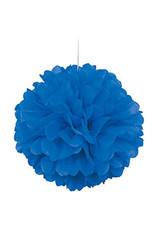 """unique Blue 16"""" Puff Ball"""