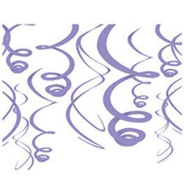 Amscan Lavender Swirls - 12ct.