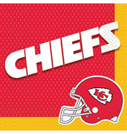 Amscan Kansas City Chiefs Lun. Napkins - 16ct.