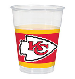 Amscan Kansas City Chiefs 16oz Cups - 25ct.