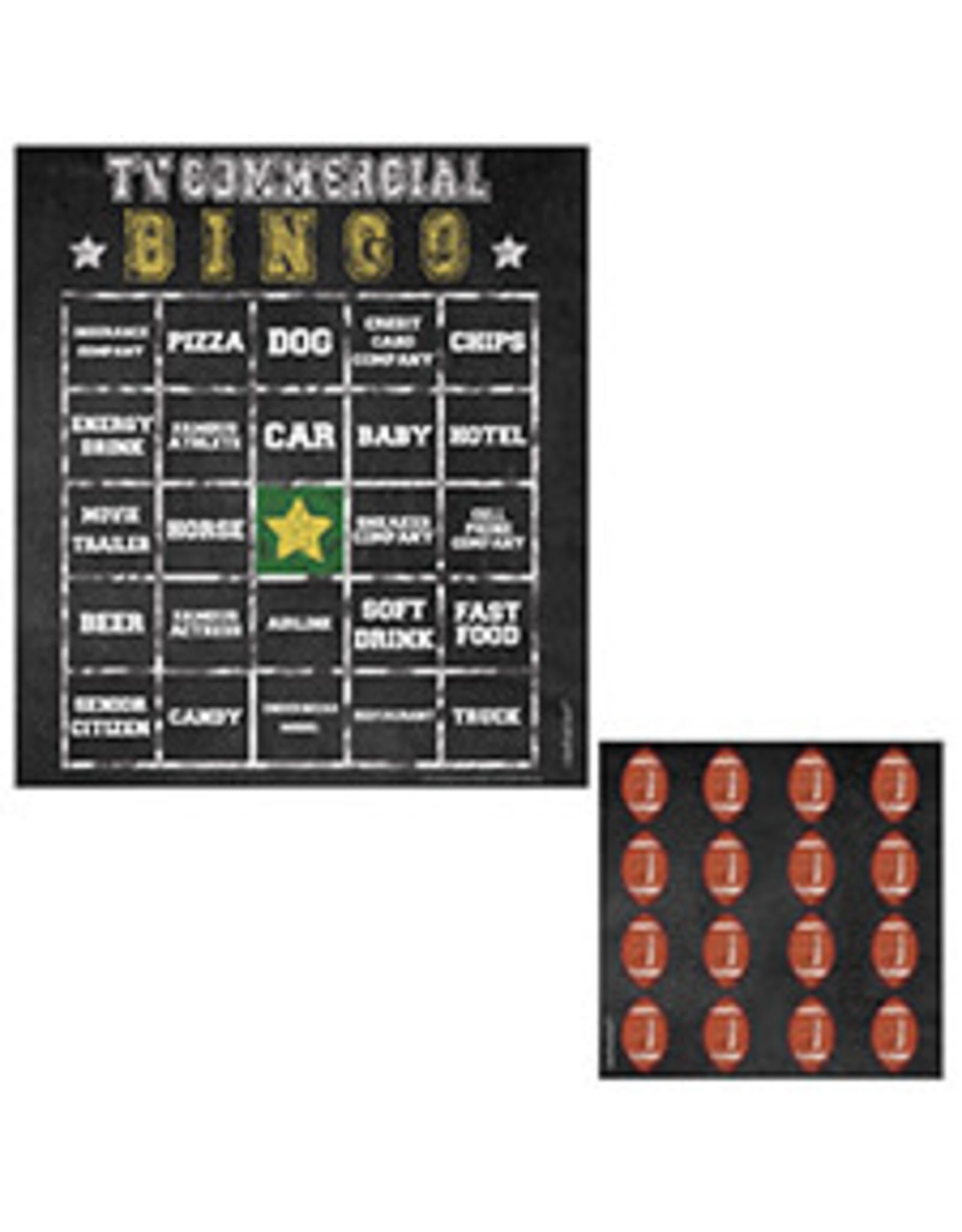 Amscan Bingo Football Edition