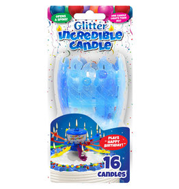 Just For Laughs Glitter Incredible Candles that Spin!