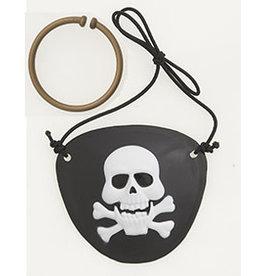 unique Pirate Patch & Ear Ring Set - 4ct.