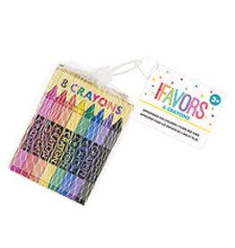 unique Crayons - 8ct.