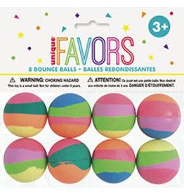 unique Pastel Bounce Balls - 8ct.