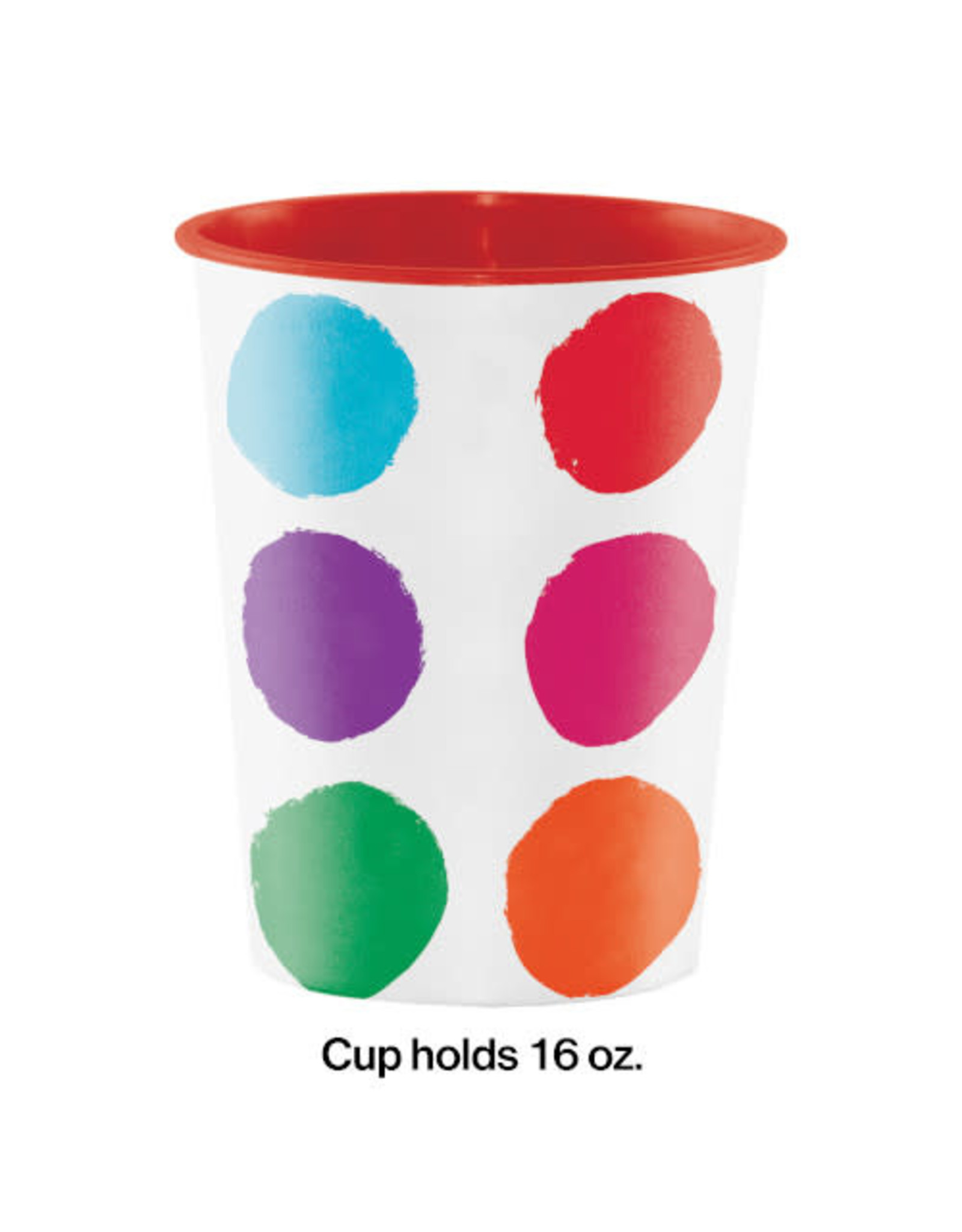 creative converting Art Party Favor Cup - 16oz