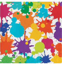 creative converting Art Party Lunch Napkins - 16ct.
