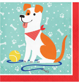 creative converting Dog Party Lun. Napkins - 16ct.