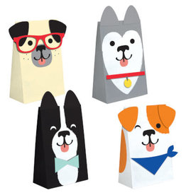 creative converting Dog Party Paper Treat Bags - 8c.t