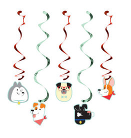 creative converting Dog Party Dizzy Danglers - 5ct.