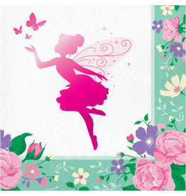creative converting Floral Fairy Sparkle Lun. Napkins - 16ct.