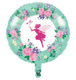 "creative converting Floral Fairy Sparkle 18"" Mylar - 1ct."
