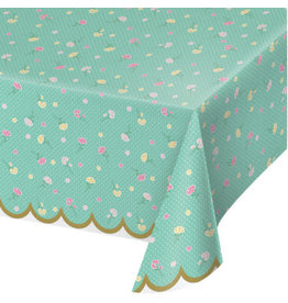 creative converting Floral Fairy Sparkle Tablecover