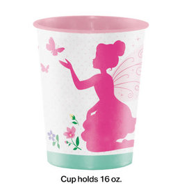creative converting Floral Fairy Sparkle 16oz Cup - 1ct.