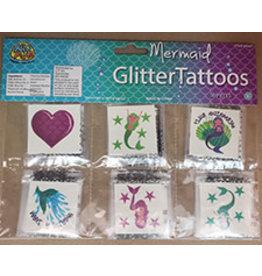 Mermaid Glitter Tattoos - 36ct.