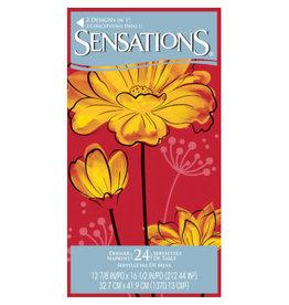 SENS Bold Blossom Guest Towel - 24ct.
