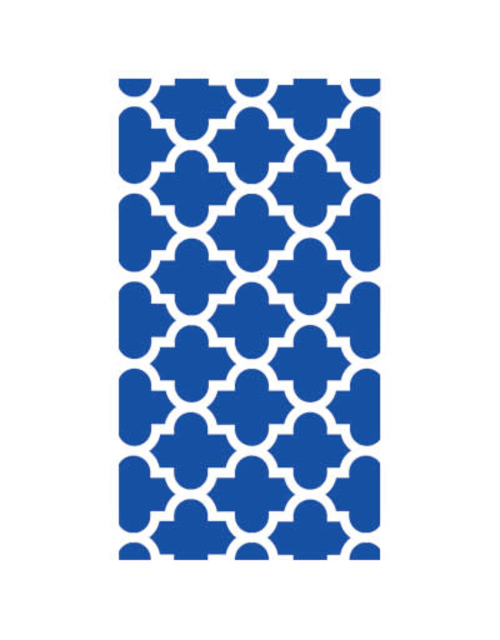 SENS Blue Mosaic Guest Towels - 24ct.