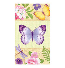 Amscan In The Garden Guest Towels - 16ct.