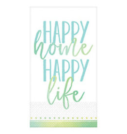 Amscan Happy Home, Life Guest Towels - 16ct.