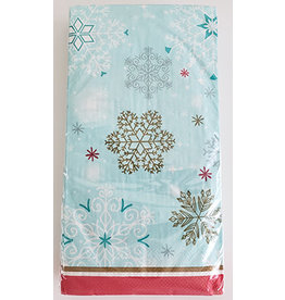 Frosty Snowflakes Guest Towels - 24ct