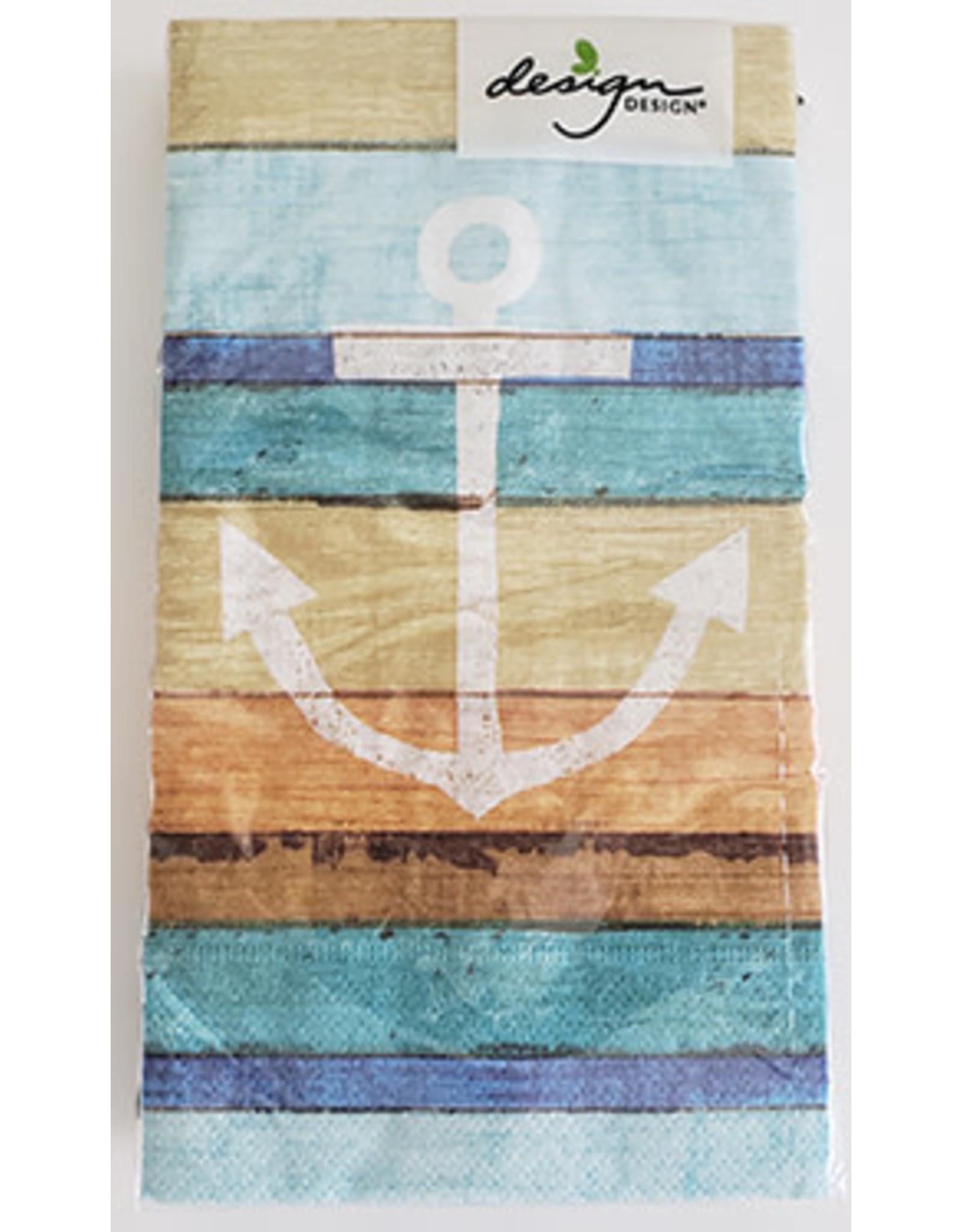 design design Boardwalk-Anchor Guest Towels - 15ct.