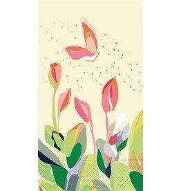 design design Floral Tulips Guest Towels - 15ct.