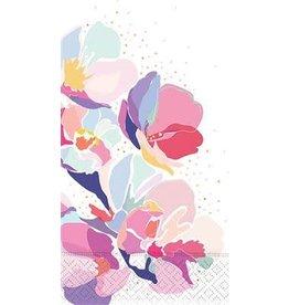 design design Pastel Painted Flowers Guest Towels - 15ct.