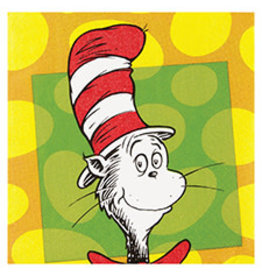 Amscan Dr. Seuss Bev. Napkins - 16ct.